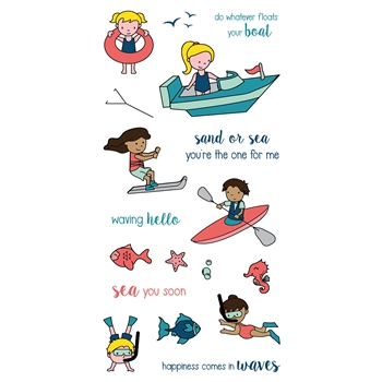 LDRS Creative FLOAT YOUR BOAT Clear Stamps 3217