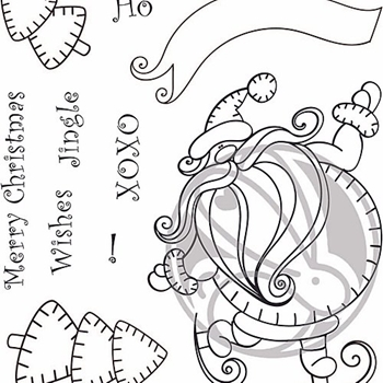 The Rabbit Hole Designs KRINGLE Clear Stamps THR-75