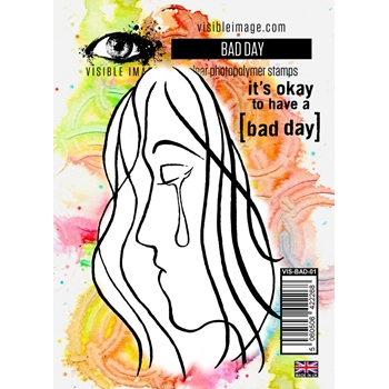 Visible Image BAD DAY Clear Stamps VIS-BAD-01