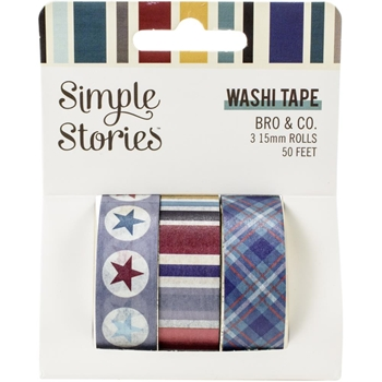 Simple Stories BRO AND CO Washi Tape 13019