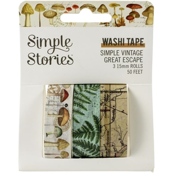 Simple Stories GREAT ESCAPE Washi Tape 13221