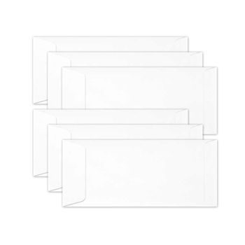Simon Says Stamp Envelopes SLIMLINE WHITE Open End sss64