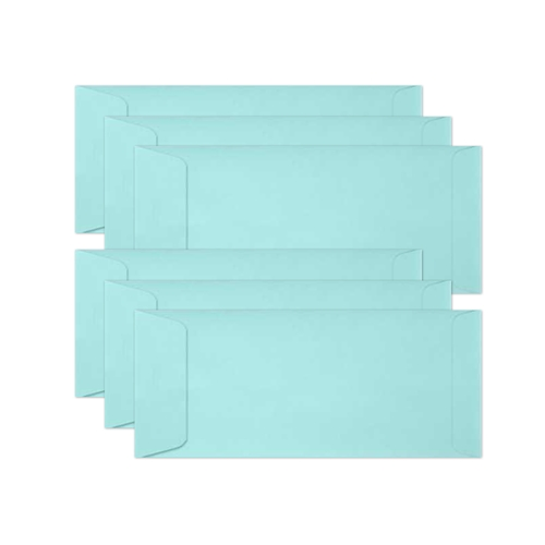Simon Says Stamp Envelopes SLIMLINE AUDREY BLUE Open End sss63 Preview Image