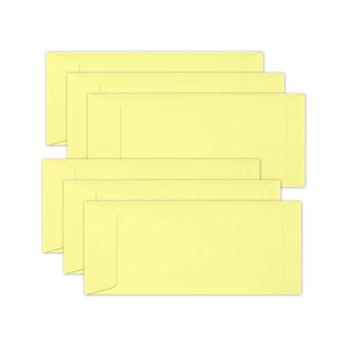 Simon Says Stamp Envelopes SLIMLINE LEMON CHIFFON Open End sss62 Send Happiness Preview Image