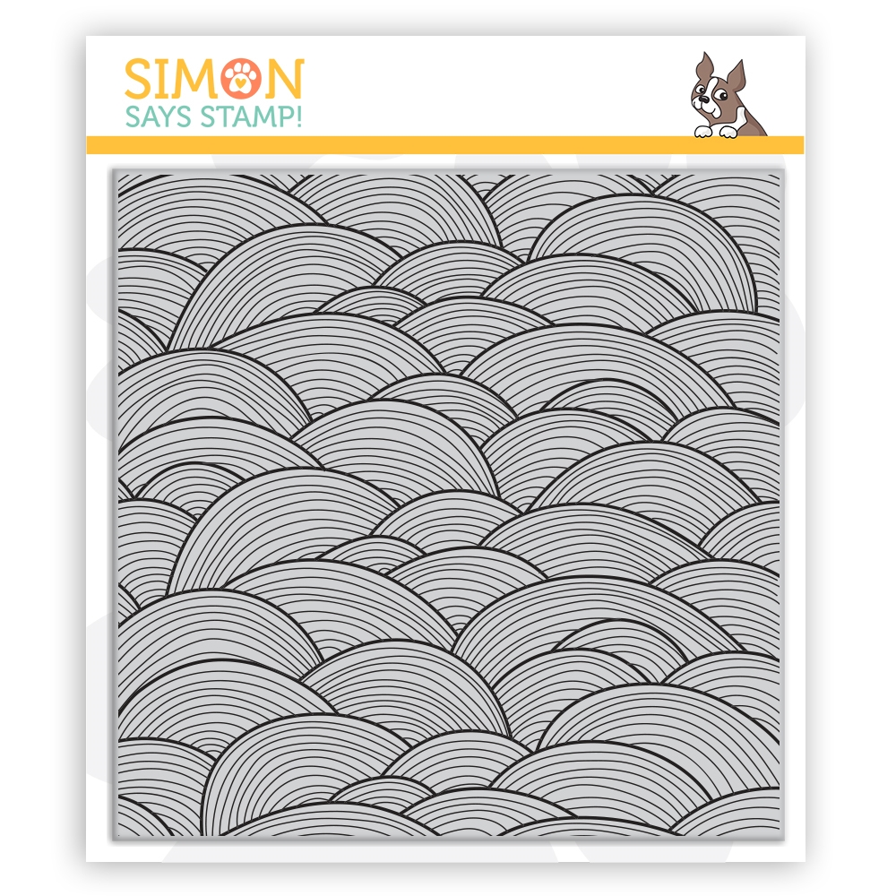 Simon Says Cling Stamp OUT TO SEA sss102127 Send Happiness zoom image