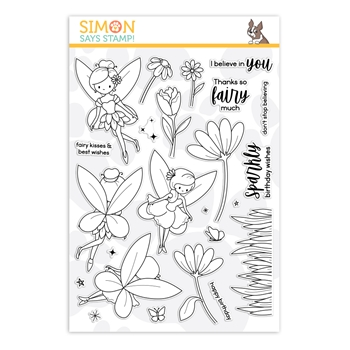 Simon Says Clear Stamps FAIRYTALE SPINNERS sss202140 Send Happiness