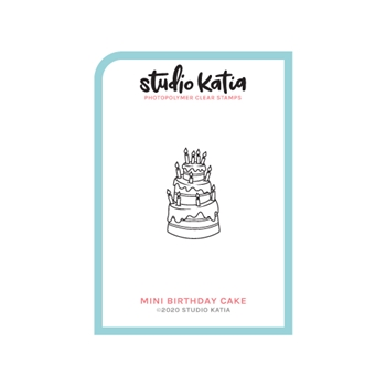 Studio Katia MINI BIRTHDAY CAKE Clear Stamps skcs115