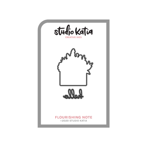 Studio Katia FLOURISHING NOTE Coordinating Dies skcd118 Preview Image