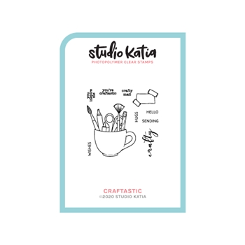 Studio Katia CRAFTASTIC Clear Stamps skcs119