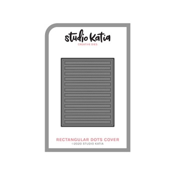 Studio Katia RECTANGULAR DOTS COVER Creative Dies skdie129