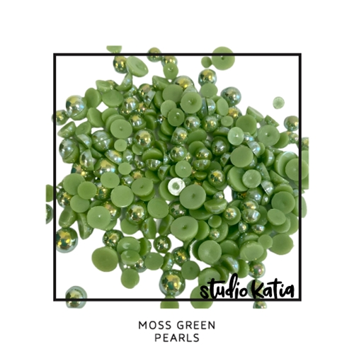 Studio Katia MOSS GREEN Pearls sk1126 Preview Image
