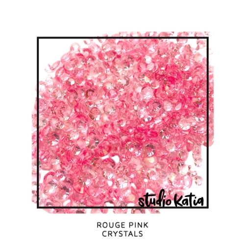 Studio Katia ROUGE PINK Crystals sk2463 Preview Image