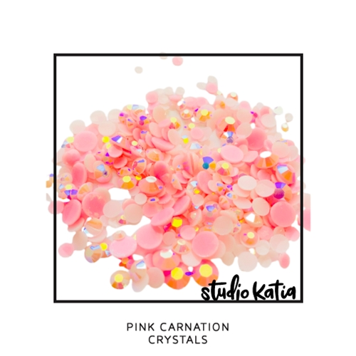 Studio Katia PINK CARNATION Crystals sk2467 Preview Image