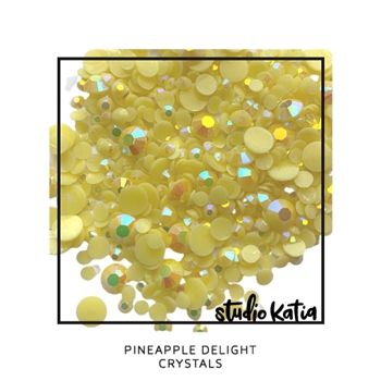 Studio Katia PINEAPPLE DELIGHT Crystals sk2468