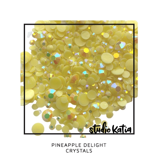 Studio Katia PINEAPPLE DELIGHT Crystals sk2468 zoom image