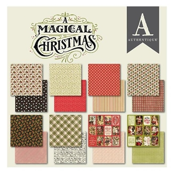 Authentique 6 x 6 A MAGICAL CHRISTMAS Paper Pad amc010