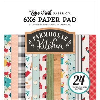 Echo Park FARMHOUSE KITCHEN 6 x 6 Paper Pad fk216023