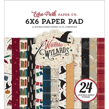 Echo Park WITCHES AND WIZARDS 6 x 6 Paper Pad waw217023