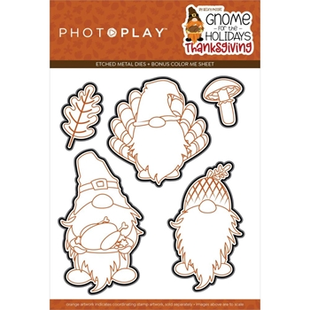 PhotoPlay GNOME FOR THANKSGIVING Die Set gnt2267