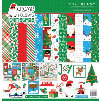 PhotoPlay GNOME FOR CHRISTMAS 12 x 12 Collection Pack gnc2244