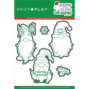 PhotoPlay GNOME FOR CHRISTMAS Die Set gnc2254