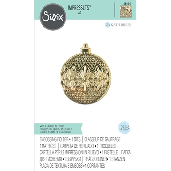 Sizzix ORNAMENT Textured Impressions Embossing Folder 664505