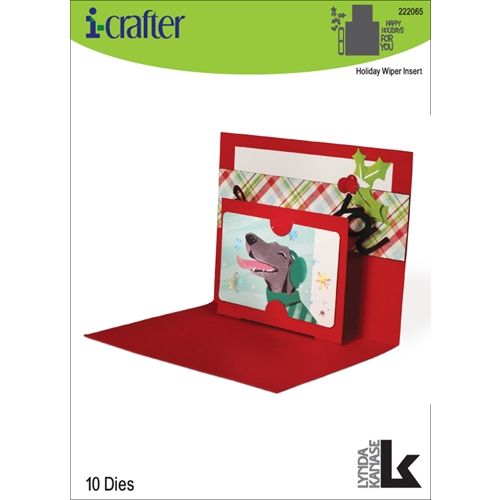 i-Crafter HOLIDAY WIPER INSERT Dies 222065* Preview Image