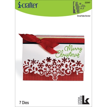 i-Crafter SNOWFLAKE BORDER Dies 222067