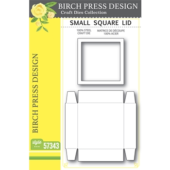 Birch Press Design SMALL SQUARE LID Craft Dies 57343