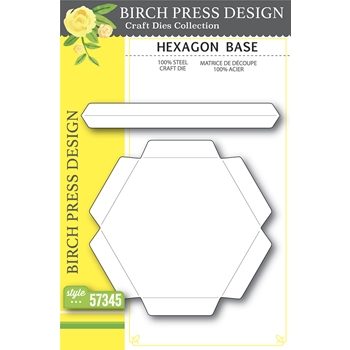 Birch Press Design HEXAGON BASE Craft Dies 57345