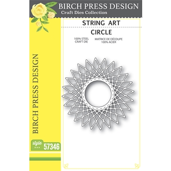 Birch Press Design STRING ART CIRCLE Craft Dies 57346
