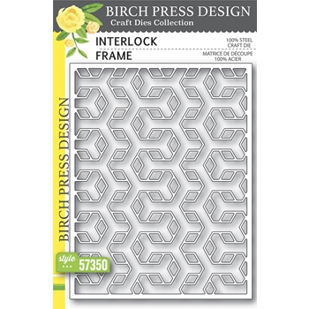 Birch Press Design INTERLOCK FRAME Craft Dies 57350