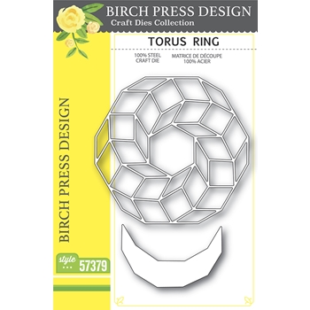 Birch Press Design TORUS RING Craft Dies 57379