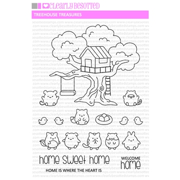 Clear Stamps TREEHOUSE TREASURE Clear Stamps CBSTR571