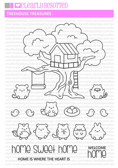 Clear Stamps TREEHOUSE TREASURE Clear Stamps CBSTR571 zoom image