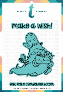 Trinity Stamps MAKE A WISH Die Set tmdc47