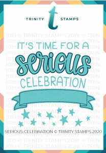 Trinity Stamps SERIOUS CELEBRATION Die Set tmdc50