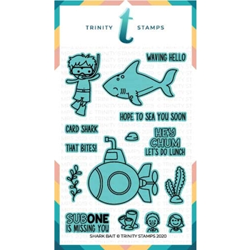 Trinity Stamps SHARK BAIT Die Set tmdc52