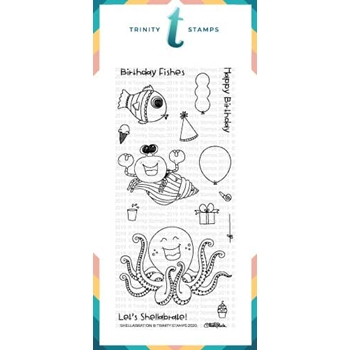 Trinity Stamps SHELLABRATION Clear Stamp Set tps054