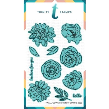 Trinity Stamps WALLFLOWER Die Set tmdc51