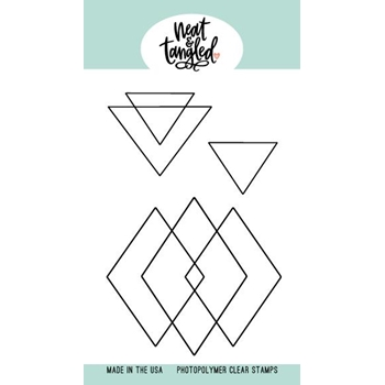Neat and Tangled GEOMETRIC Clear Stamps NAT498