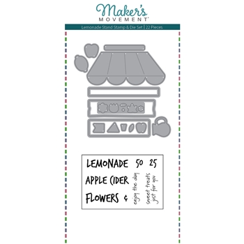 Maker's Movement LEMONADE STAND Stamp And Die Set msd221