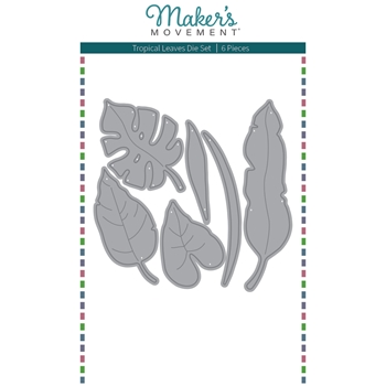 Maker's Movement TROPICAL LEAVES Die Set mod291