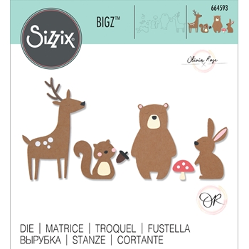 Sizzix FOREST FRIENDS Bigz Die 664593