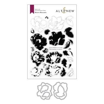 Altenew NATURE BLOSSOMS Clear Stamp and Die Bundle ALT4276