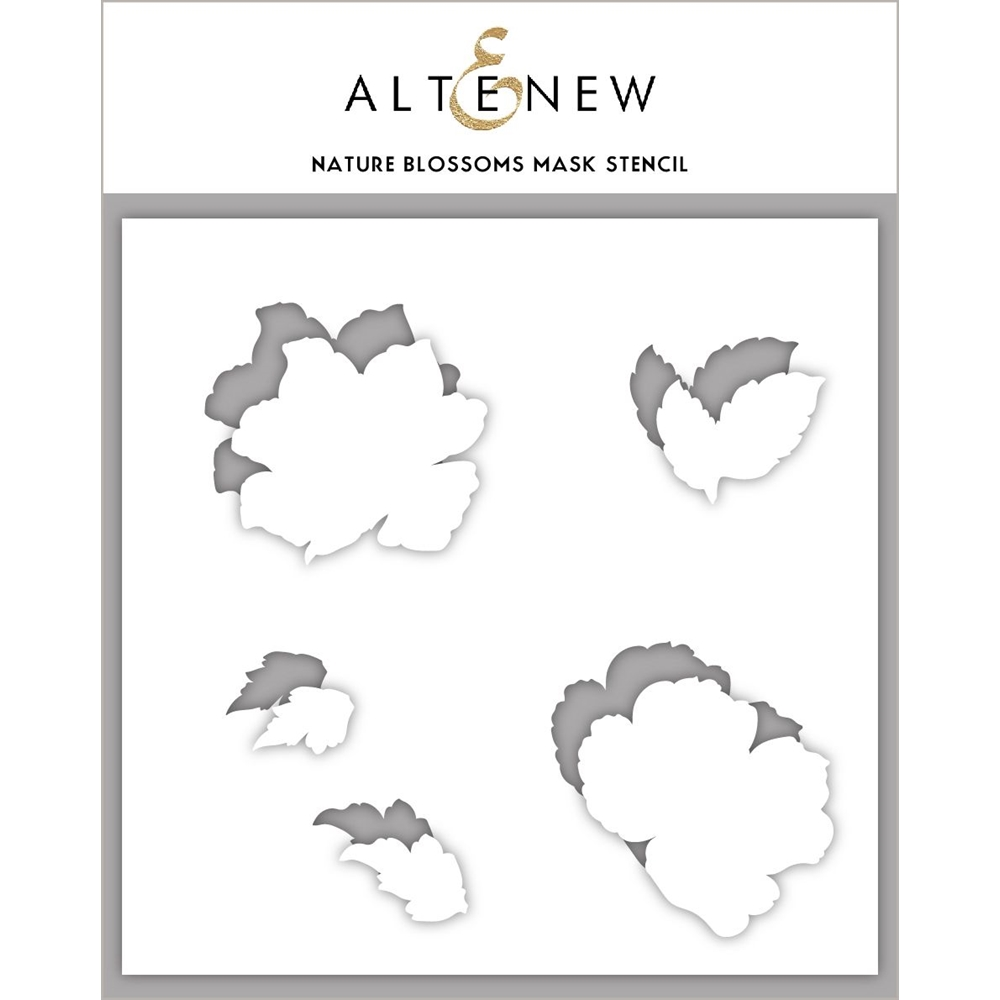 Altenew NATURE BLOSSOMS Mask Stencil ALT4275 zoom image
