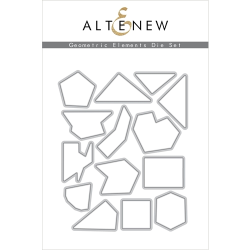 Altenew GEOMETRIC ELEMENTS Dies ALT4270 Preview Image