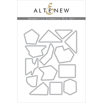 Altenew GEOMETRIC ELEMENTS Dies ALT4270