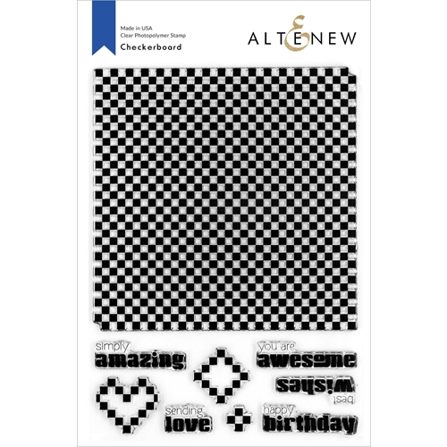 Altenew CHECKERBOARD Clear Stamps ALT4265 Preview Image