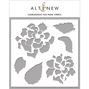 Altenew COURAGEOUS YOU Mask Stencil ALT4262